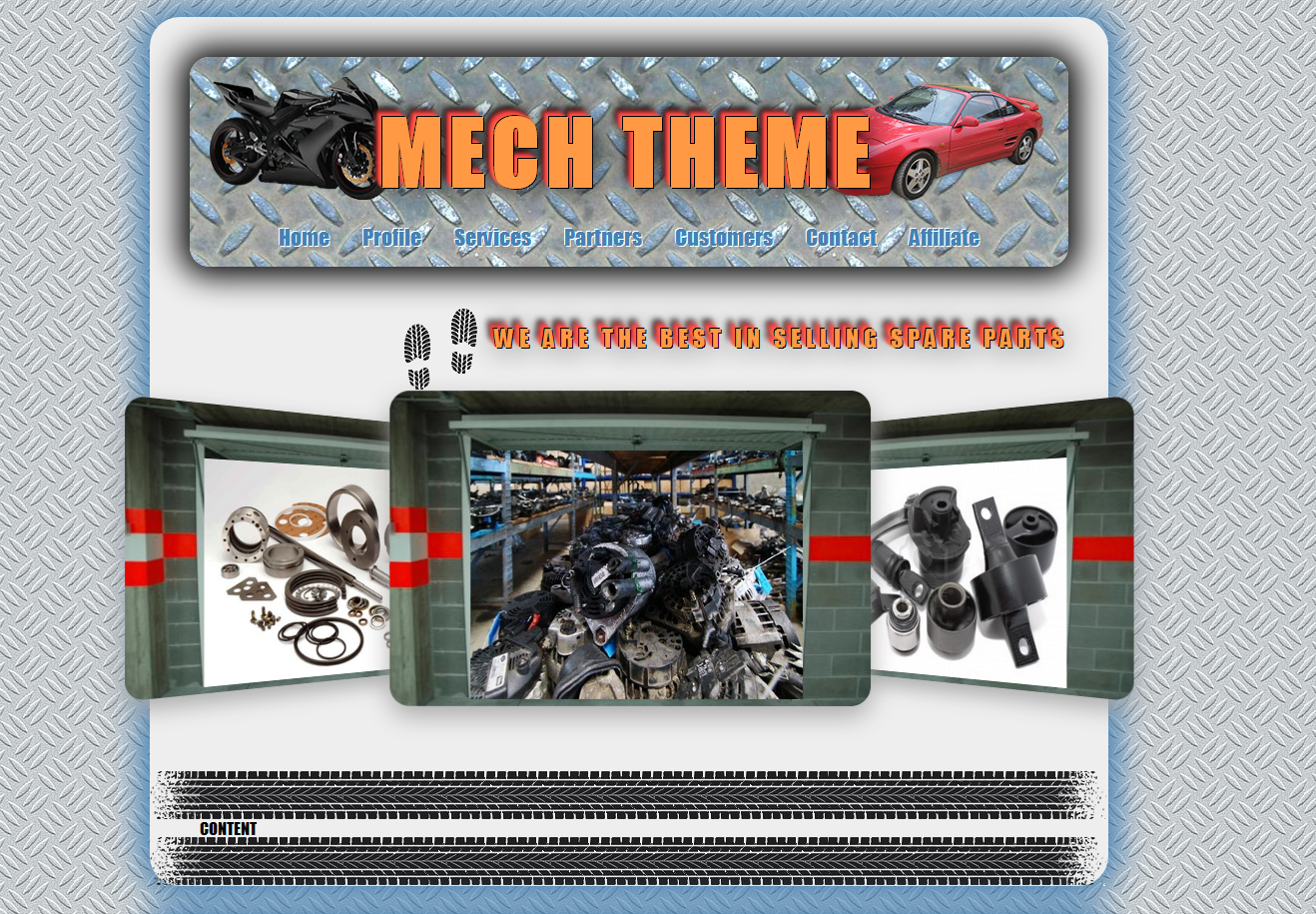 Mechanic Theme