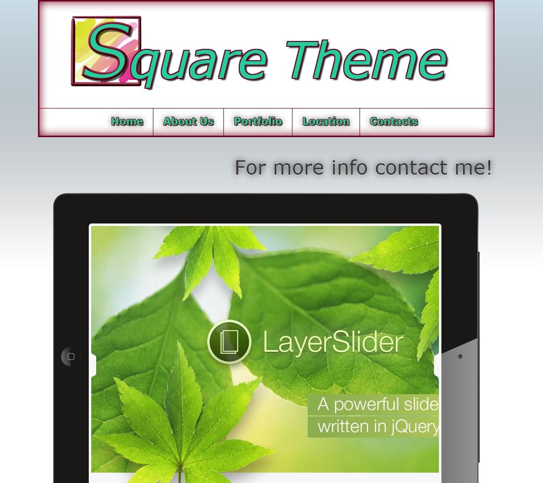 Square Theme