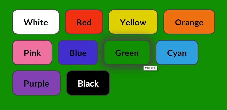 Sfondo Colore Variabile